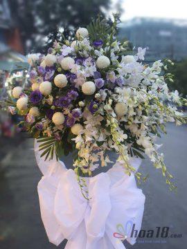 hoa chia buồn