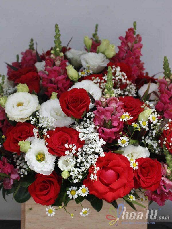 hộp hoa tươi